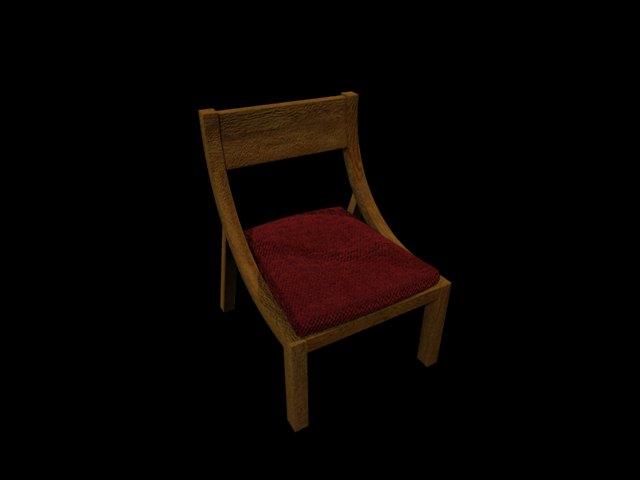 'Arch Chair' by bgirlzzz - 3D Model