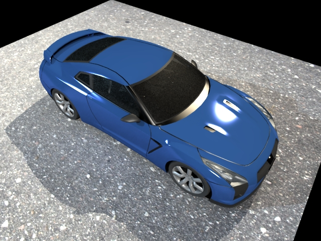 ' Nissan GT-R NISMO' by PROJEX - 3D Model
