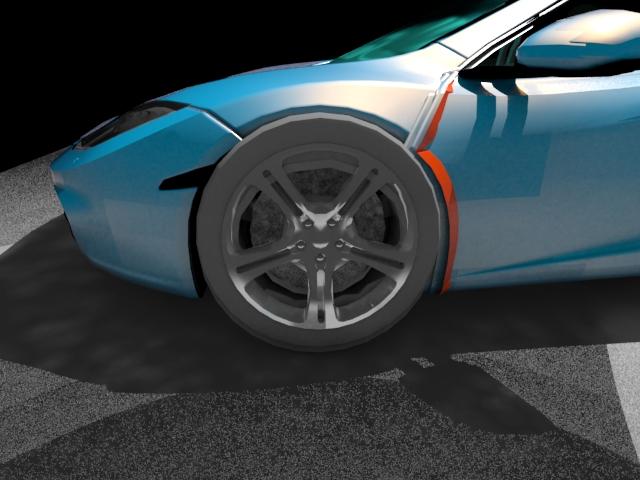 'McLaren MP4 12C (VRay)' by PROJEX - 3D Model