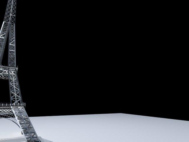 'Effel Tower' by pslm - 3D Model