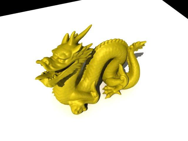 'Copy of Stanford Dragon' by wwcyj2007 - 3D Model