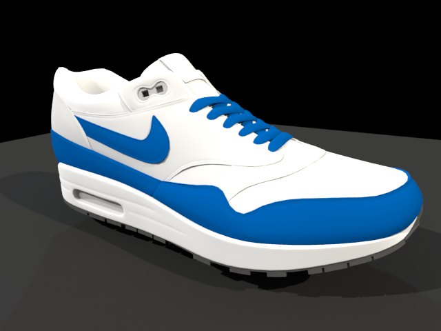 'Nike Air Max - Low Poly' by joncor - 3D Model