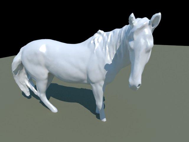 'Horse Statue' by luluxbubu - 3D Model