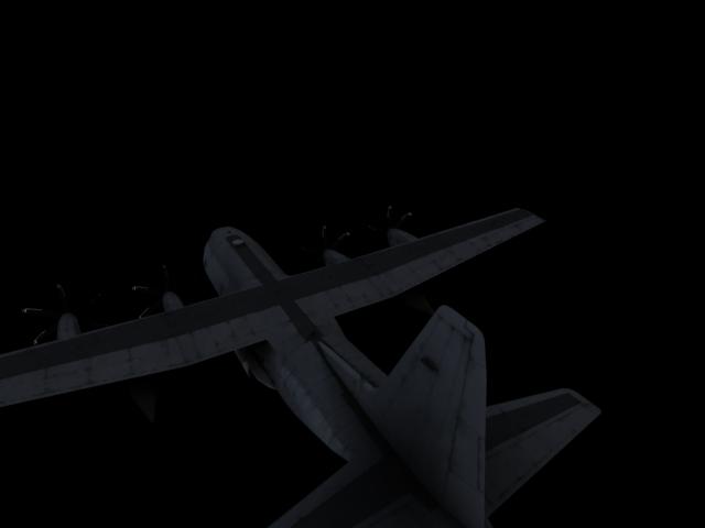 'US C 130 Hercules Airplane' by calebkit - 3D Model