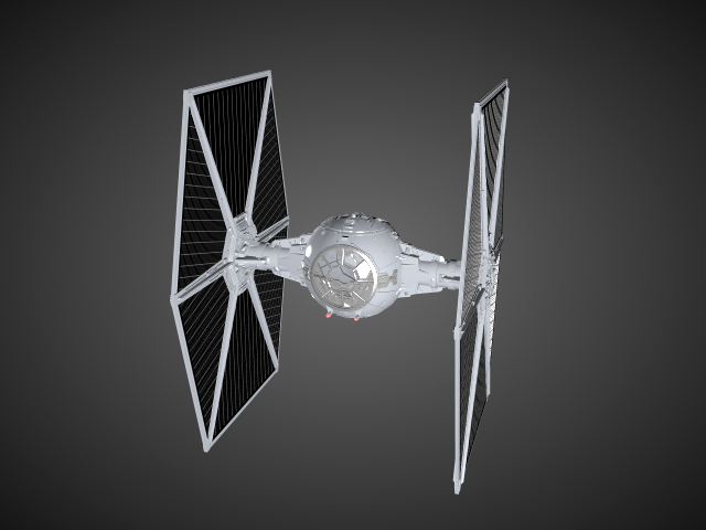 'Starwars TIE Fighter' by Alstar - 3D Model