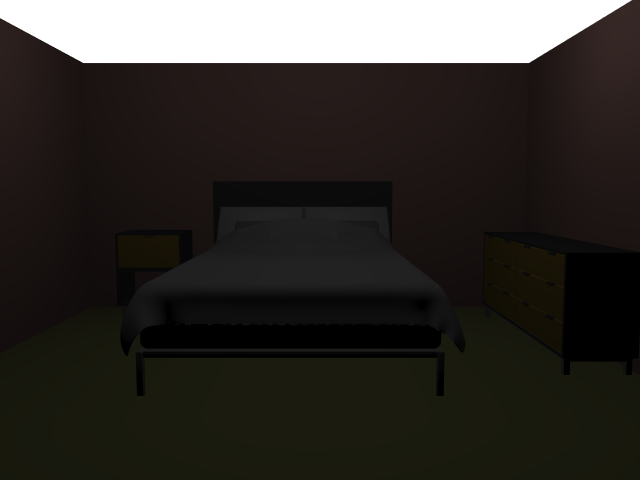 'Blue Bedroom (VRay)' by Ehnaton - 3D Model