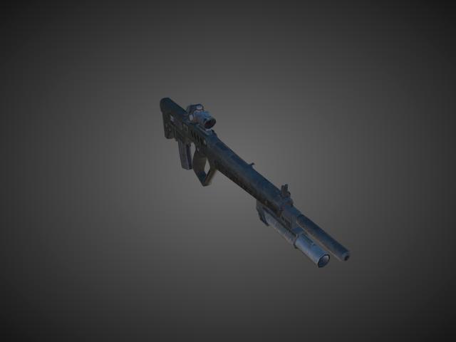 'Assault Rifles - Tar21 02' by bevisbear - 3D Model