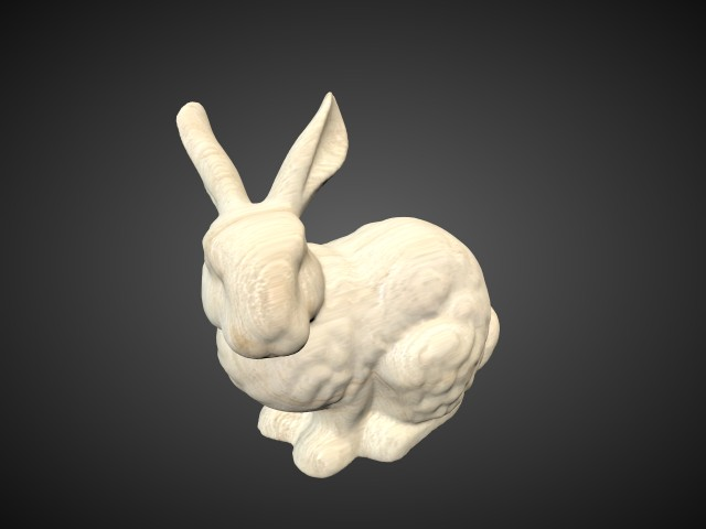'Stanford Bunny' by raffc1 - 3D Model