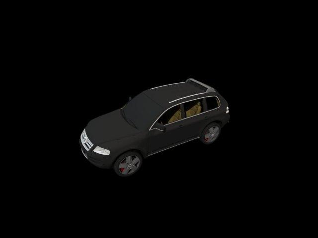 'Volkswagen Touareg' by rafraf123 - 3D Model