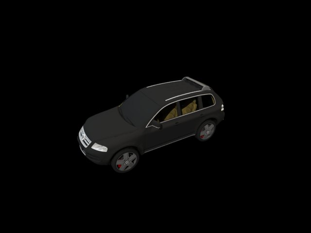 'Volkswagen Touareg' by talandrius - 3D Model