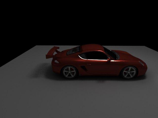 'Porsche Cayman (VRay)' by Kkennedy12 - 3D Model