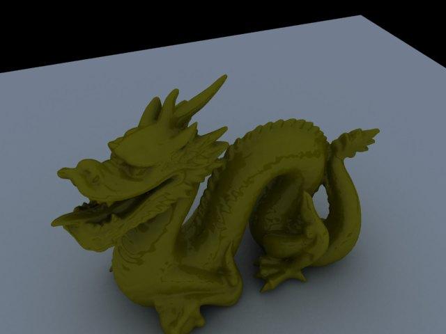 'Stanford Dragon' by grapix - 3D Model