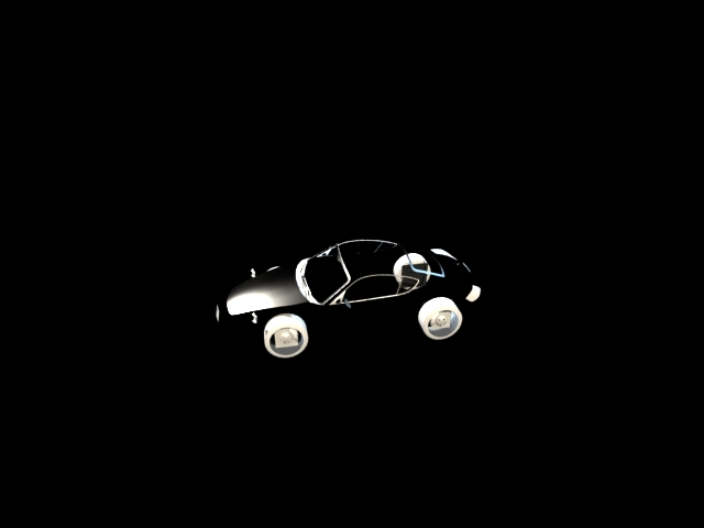 'Porsche Cayman (VRay)' by juba - 3D Model