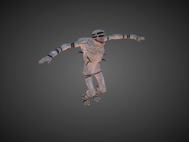 'Rakshasa 2' by bevisbear - 3D Model
