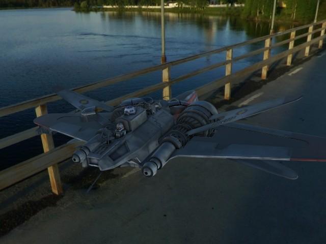 'Star Wars Arc 170 PBR' by emiliopalafox - 3D Model