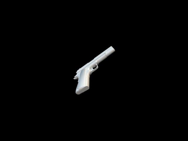 'M1911 Handgun' by Navey - 3D Model