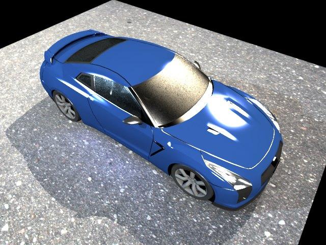 ' Nissan GT-R NISMO' by Marshall Hahn - 3D Model