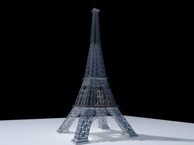 'Effel Tower' by eslamsasakll - 3D Model