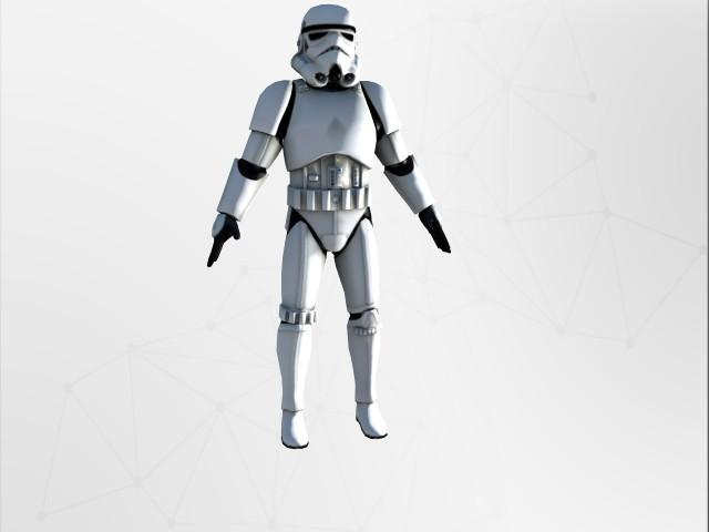 'Stormtrooper' by vaishnudevan - 3D Model