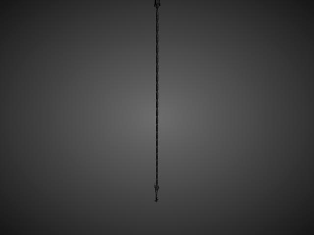 'Whip - Demonic' by bevisbear - 3D Model