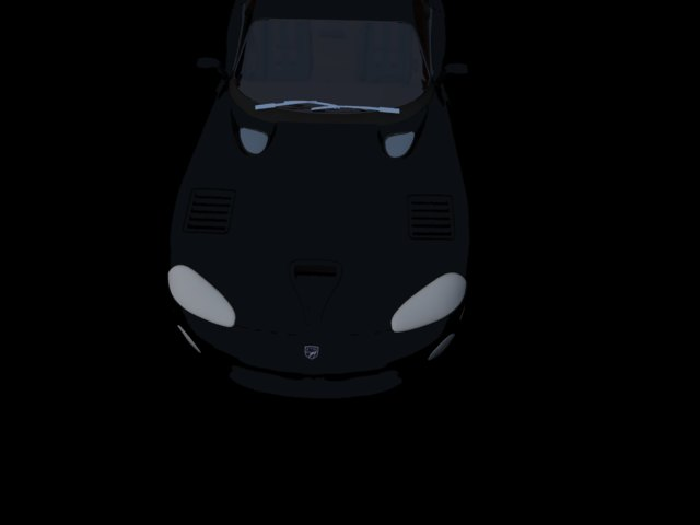 'Dodge Viper GTS' by billyboba2z - 3D Model