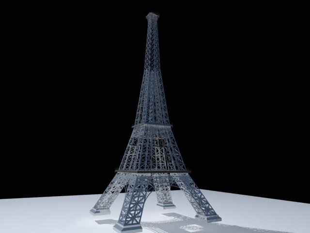 'Effel Tower' by minaadly - 3D Model