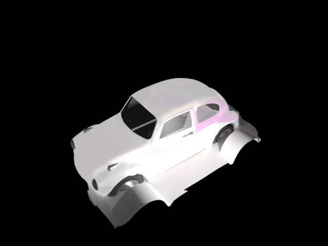 'Volkeswagon VW Beetle' by rlaruddms44 - 3D Model