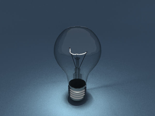 'Light Blub - Mesh Light' by zenakent - 3D Model