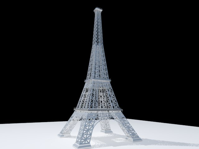 'Effel Tower' by seriousblack26 - 3D Model