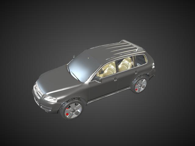 'Volkswagen Touareg' by saroos - 3D Model