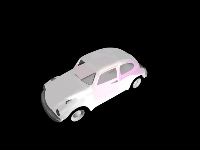 'Volkeswagon VW Beetle' by jing - 3D Model