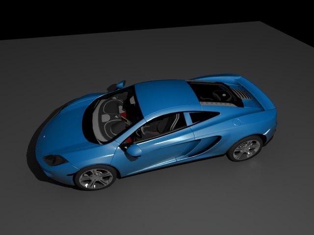 'McLaren MP4 12C (VRay)' by matchru - 3D Model