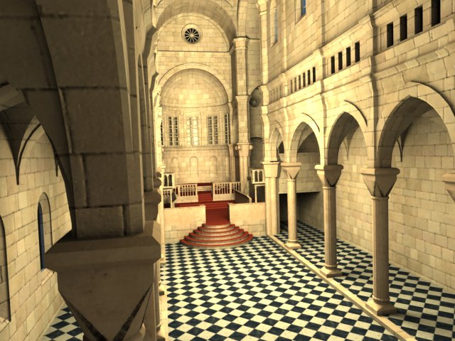'Sibenik Cathedral (VRay)' by Deviant - 3D Model