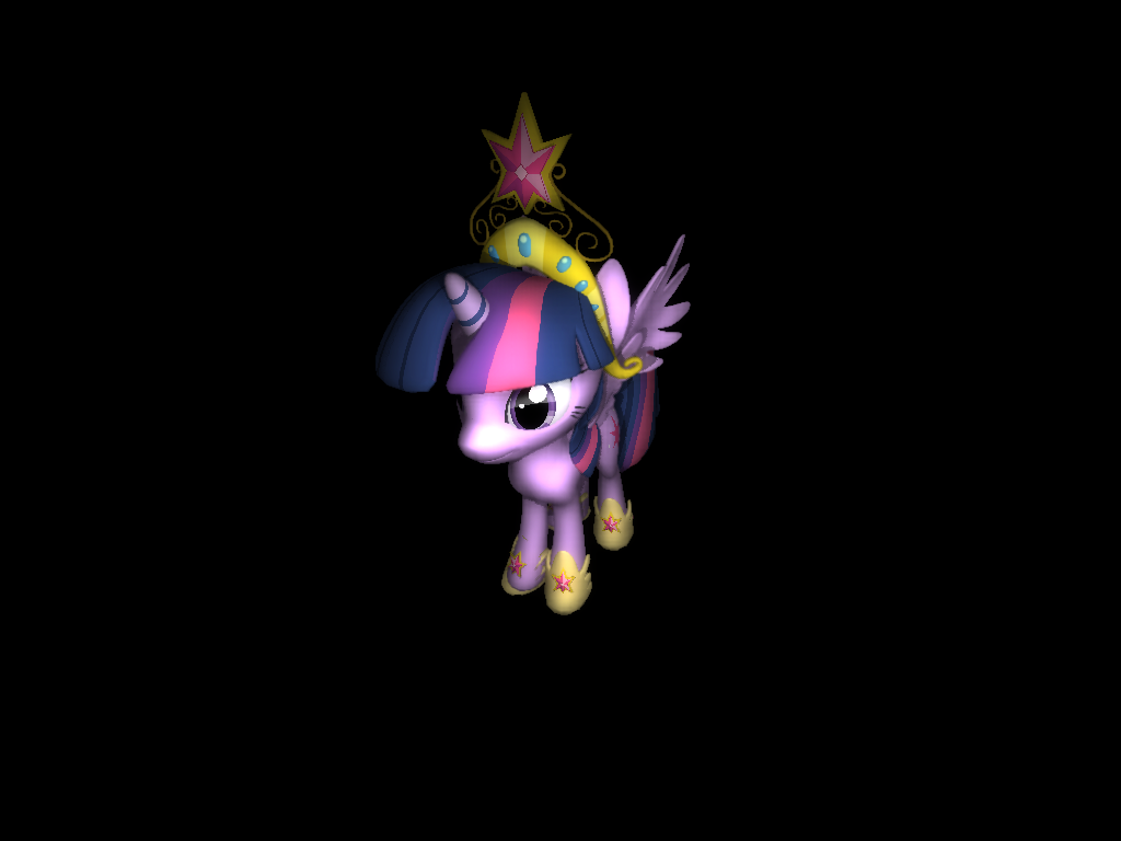'Princess Twilight Sparkle' by derBertl - 3D Model