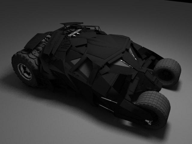 'Batman Tumbler' by edhead - 3D Model