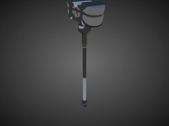'Hammer - Little Friend(The Ankh)' by bevisbear - 3D Model