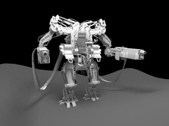 'Clone of APU Drone (VRay)' by calebkit - 3D Model