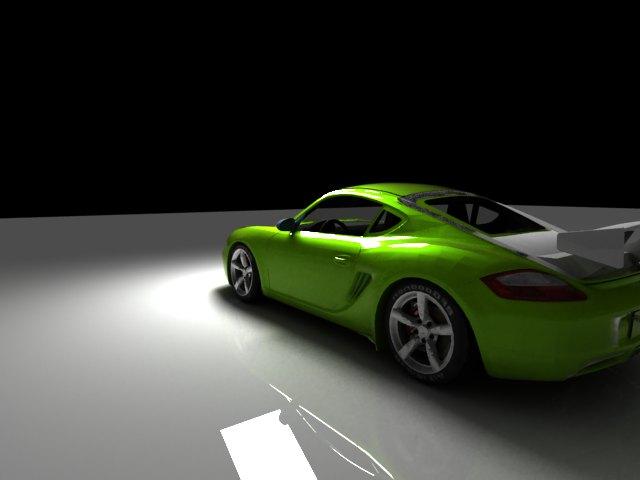 'Porsche Cayman (VRay)' by tjhthjtdedtjh - 3D Model