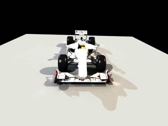 'Ferrari F1 Race Car' by PrashanthG - 3D Model