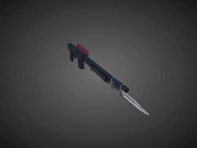 'Shotgun - ValtroPM5 03' by bevisbear - 3D Model