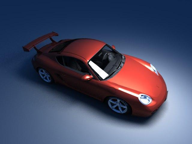 'Porsche Cayman (VRay)' by zanepopes - 3D Model