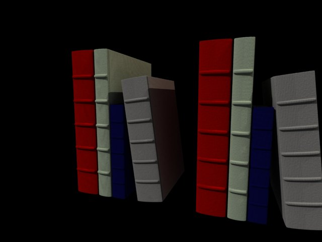 'Books' by Gory - 3D Model