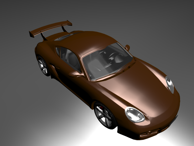 'Porsche Cayman (VRay)' by Cathy - 3D Model