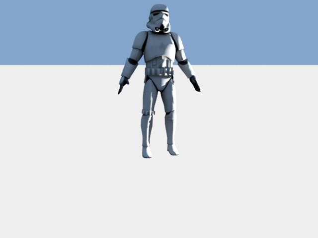 'Stormtrooper' by Korhancagla - 3D Model