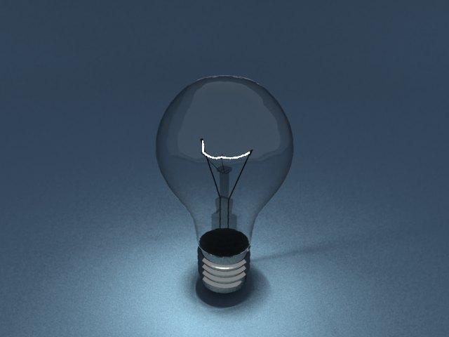 'Light Blub - Mesh Light' by Liamferry1 - 3D Model