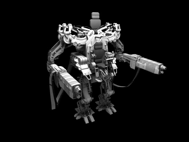 'APU Drone (VRay)' by saleh - 3D Model