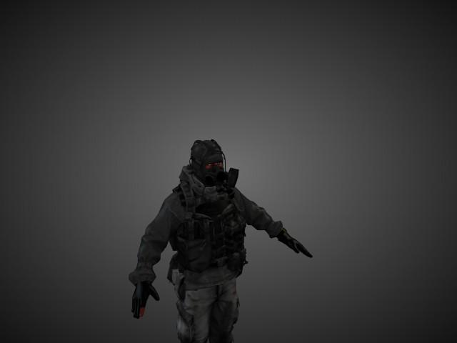 'Russian Engineer - Battlefield 3' by spuddy - 3D Model