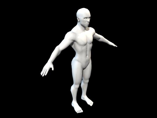 'Standard Male Figure' by rizal44 - 3D Model