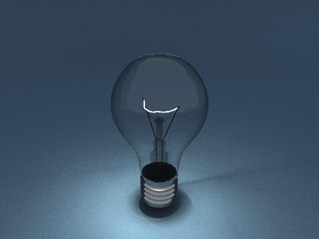 'Light Blub - Mesh Light' by Gurnam - 3D Model