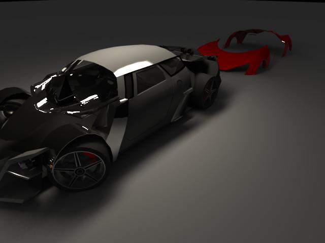 'Marussia B2 (VRay)' by DesinerAnurag - 3D Model